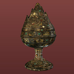 Image of Incense burner in the form of a mountain (boshanlu)