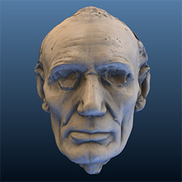 Lincoln Life Mask (Volk) Laser Scan
