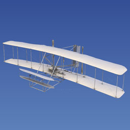 Wright Flyer (1903) Laser Scan