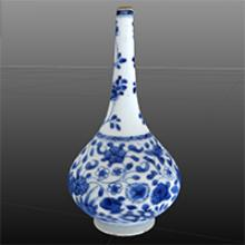 Image of Bottle-Shaped Vase F1982.19