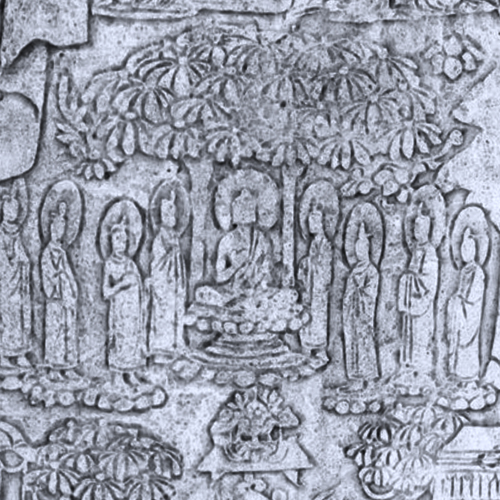 Image of Buddhas on the Buddha